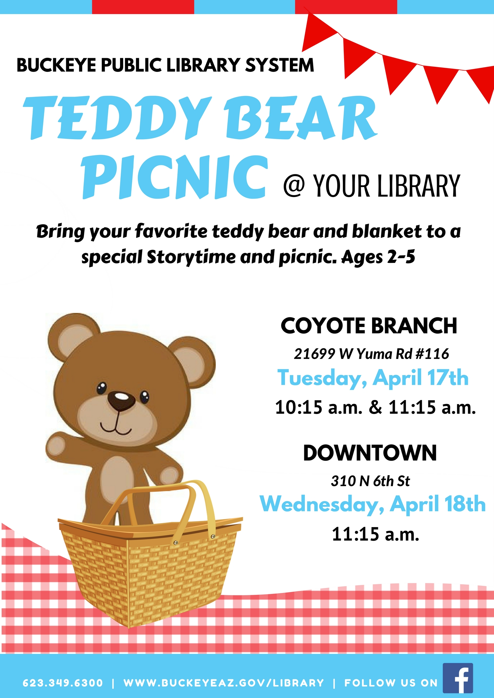 Teddy Bear Picnic Flyer