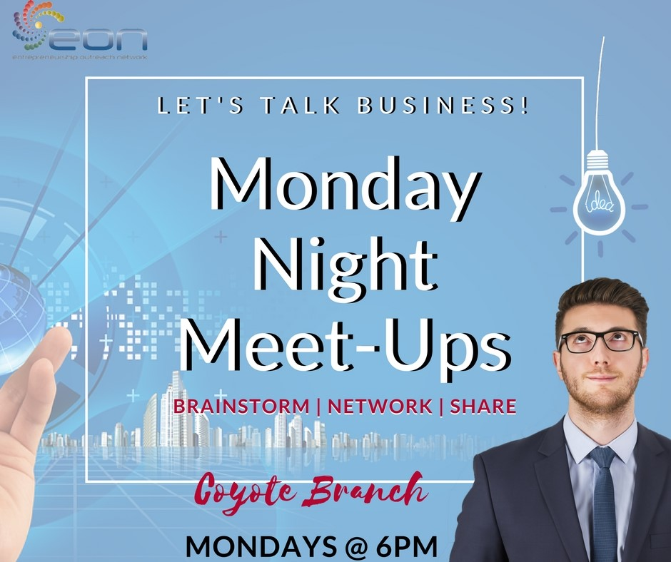 Business Meet Ups Flyer