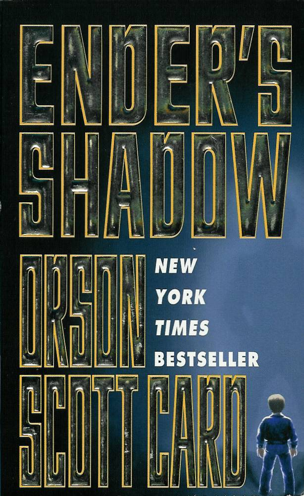 Book cover for the book Ender's Shadow
