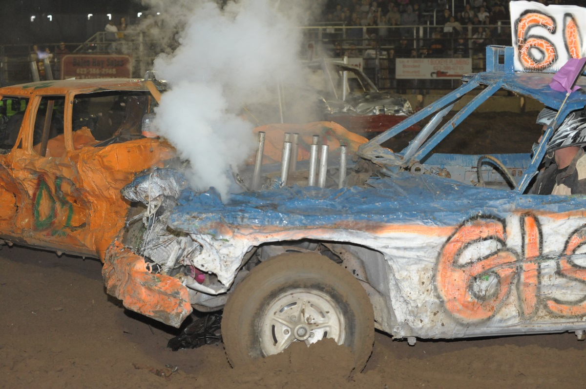 Non-stop hits at Buckeye's Demolition Derby