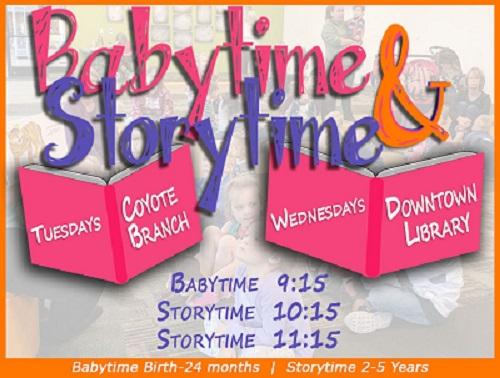 Storytime and Babytime