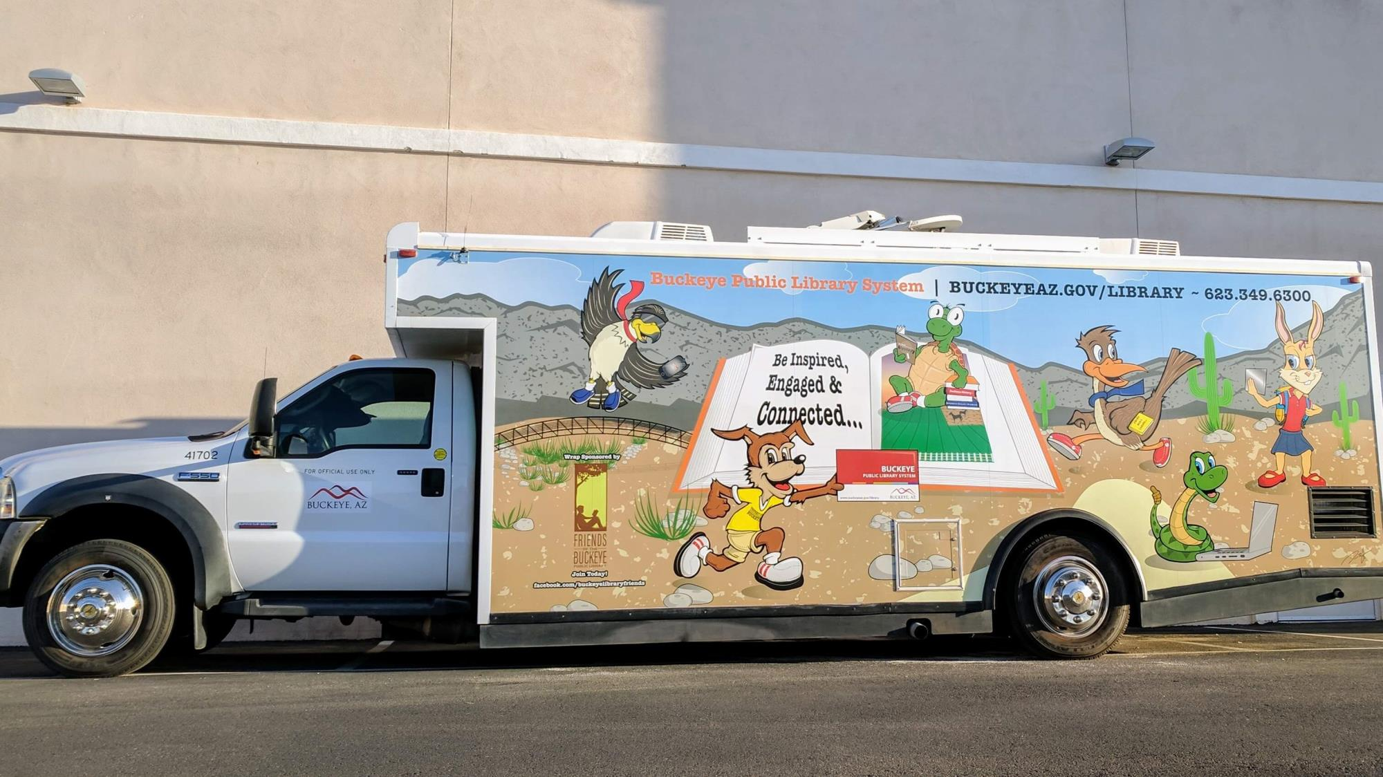 Picture of the Roadrunner Bookmobile