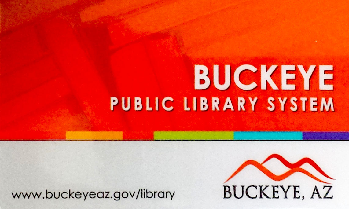 Image of Buckeye Public Library Card