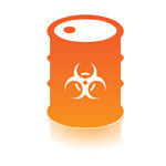 hazardous waste icon