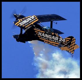 Jon Melby Hangar 24 Biplane