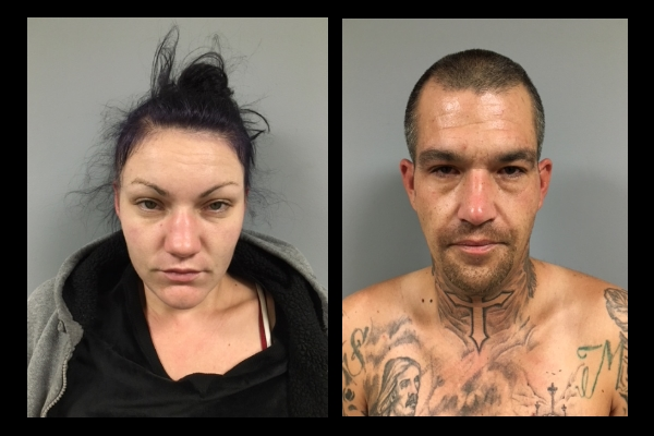Mug shots of suspects in WalMart thefts