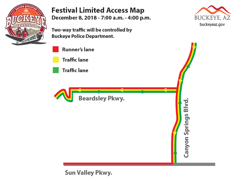 Map of Festival restrictions 2018