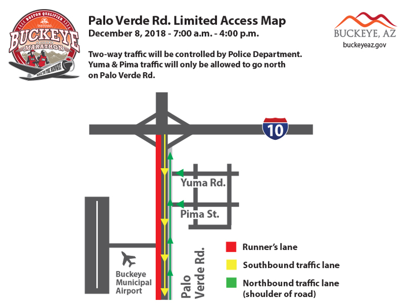Map of Palo Verde restrictions 2018