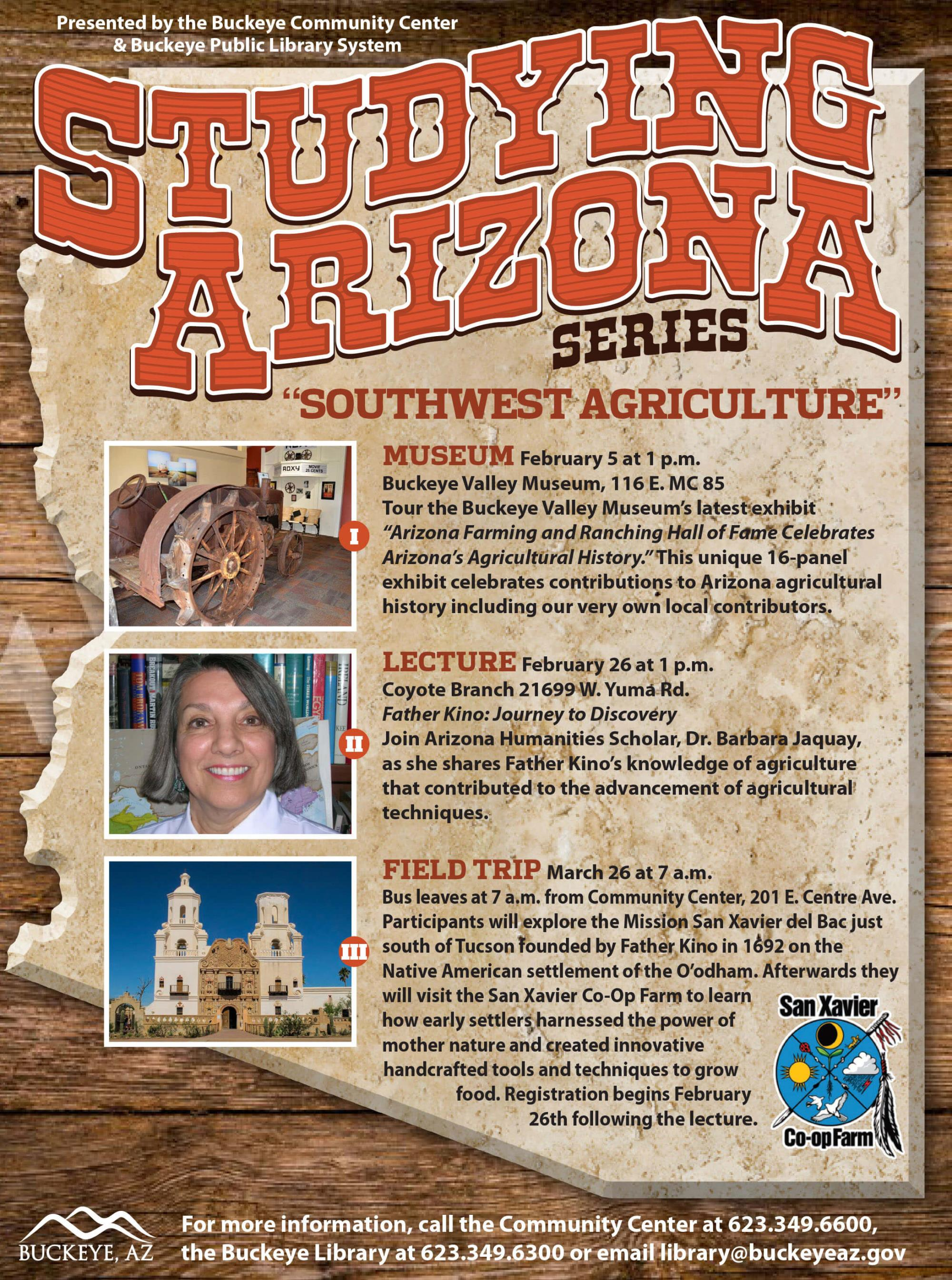 Flyer for the Studying Arizona Series