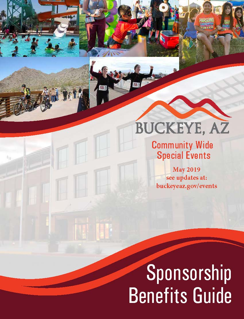 Sponsorship Packet cover- May