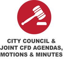 City Council & Joint CFD Button
