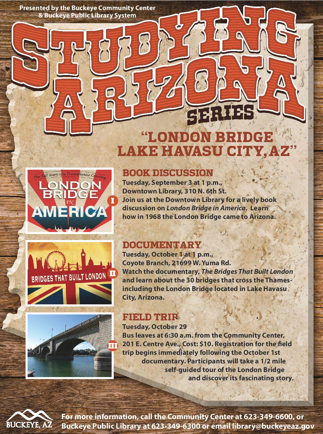 Advertisement for the Studying Arizona series