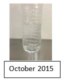 October 2015 Water Sample