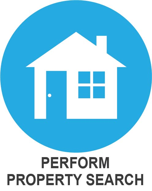 perform property search icon