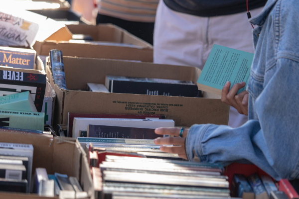 Spring book sale offers page-turning fun