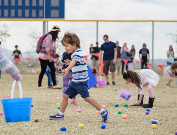 Eggs marks the spot at Buckeye's annual festival