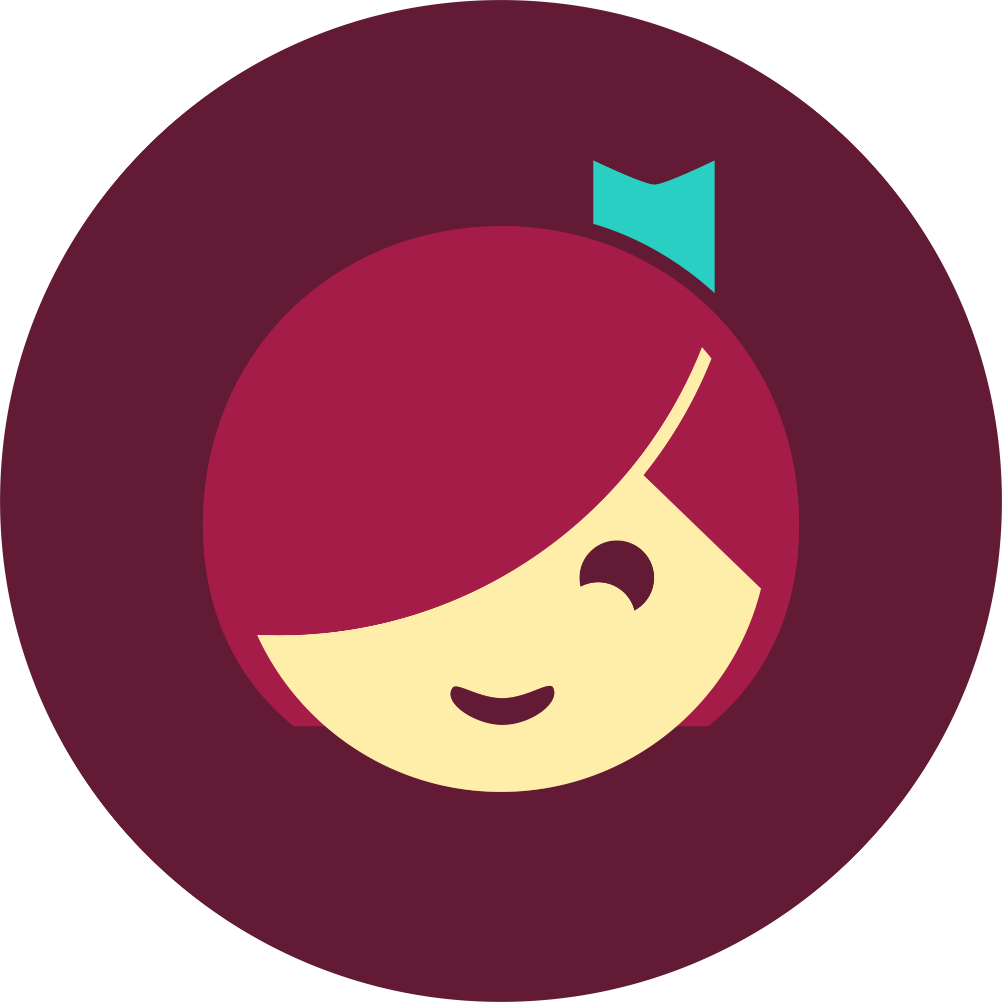 Logo for the Libby App by Overdrive