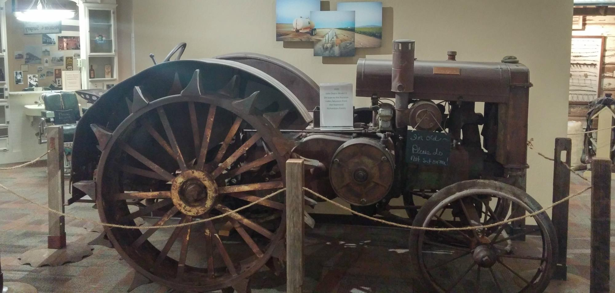 Tractor in Buckeye Valley Museum