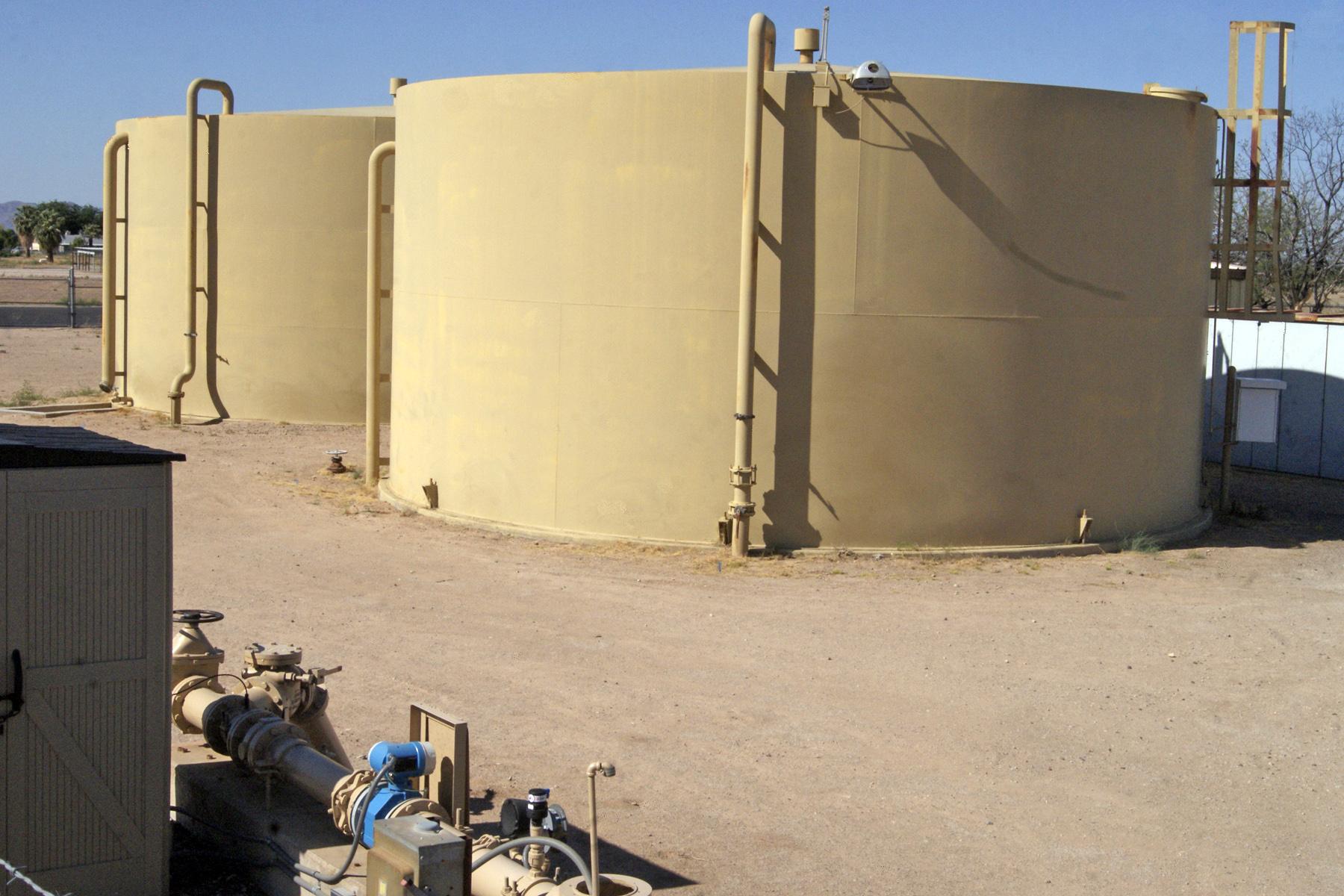 Hopeville Reservior tanks