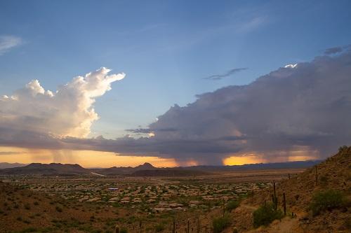 Distant storms. www.istockphoto.com/portfolio/jasony00