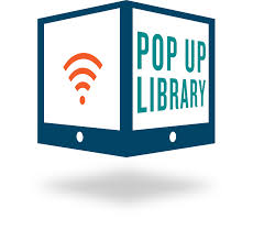 Logo for the Pop Up Library